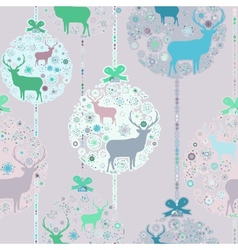 Colorful christmas seamless pattern eps 8 vector