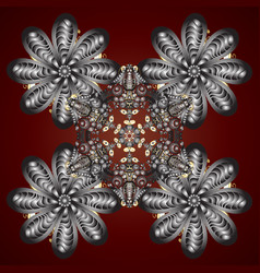 Decorative christmas background with bokeh s and vector