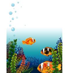 A fishworld vector