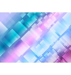 Abstract blue purple squares background vector image