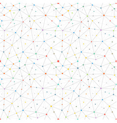 Abstract pattern with color dots seamless vector