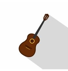 Charango music instrument icon flat style vector