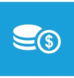 Dollar rouleau icon vector