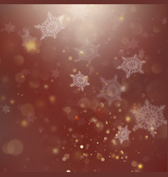 new year and xmas defocused background with vector image