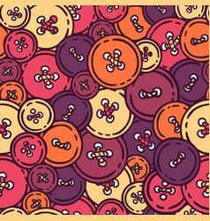 Buttons seamless pattern vector