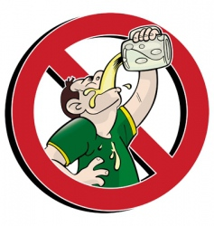 No drink vector