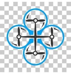 Drone screws icon vector