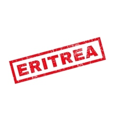 Eritrea Rubber Stamp vector image vector image