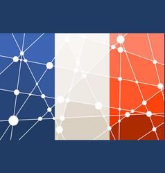 France flag concept vector