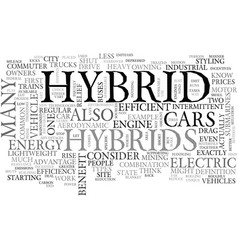 What is hybrid and how can it benefit you text vector