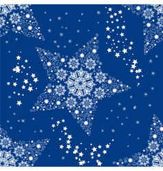 Christmas seamless star vector