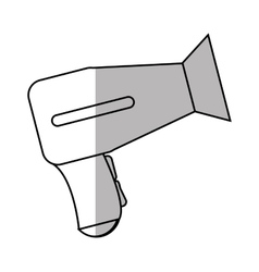Isolated hair dryer design vector