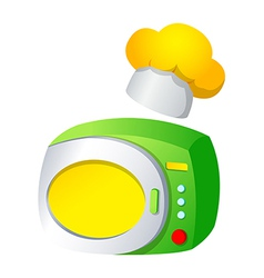 Icon microwave vector