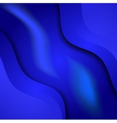 blue cloth texture background vector image