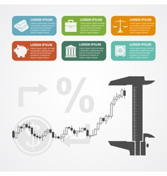 Investment infographic vector