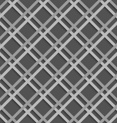 Geometrical pattern with white beveled lattice net vector