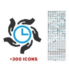 Time care icon vector