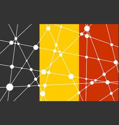 Belgium flag concept vector