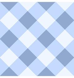 Blue serenity white diamond chessboard vector