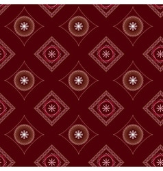 Seamless red squares vector