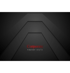 Dark corporate background vector image