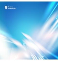 White Skyflare vector image
