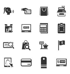 E-commerce icons set vector