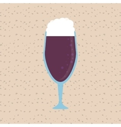 Wine design cup icon drink concept vector