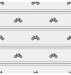 Bicycles pattern vector