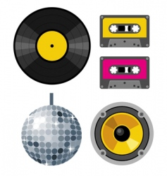 Club design elements vector