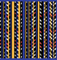 Linear halloween pattern vector