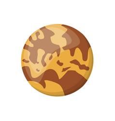 mercury planet space image vector image