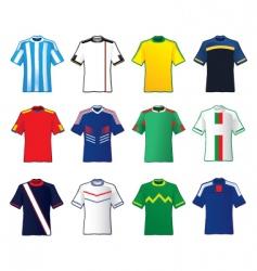 teams shirt vector image vector image
