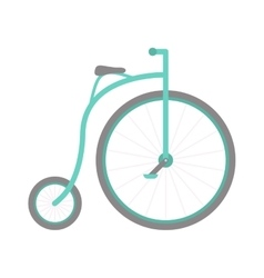 Circus bike vector image