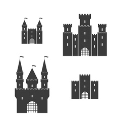 Castle set vector