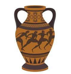 Greek vase vector image