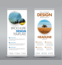 roll up banners 02-04 vector image vector image
