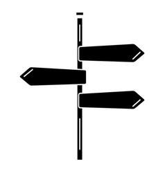 traffic signal arrows icon vector image vector image