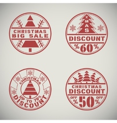 Christmas discount vector