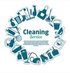Cleaning services vector