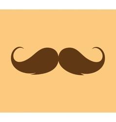 Inspirational - mustache growing vector image
