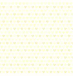 Yellow heart pattern seamless vector