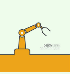 Automated robot arm vector