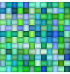 Seamless Green Blue Color Gradient Square vector image