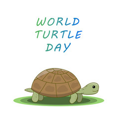 World turtle day vector
