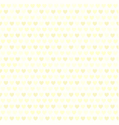 yellow heart pattern seamless vector image
