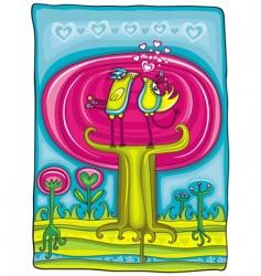 sweet garden vector image