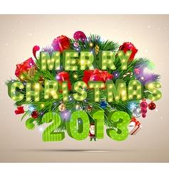 2013 christmas banner vector
