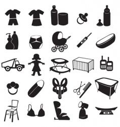 Baby logos vector
