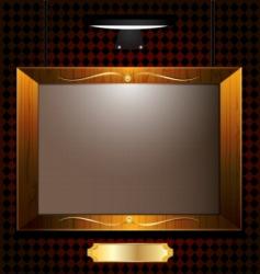 empty portrait vector image vector image